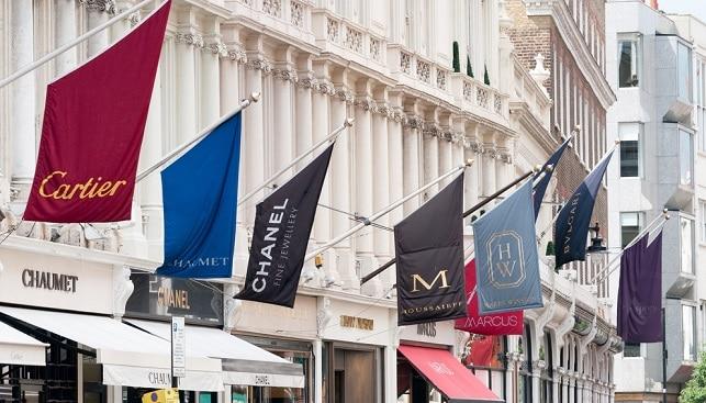 Bond Street fashion London