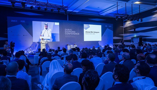 Dubai diamond bourse conference