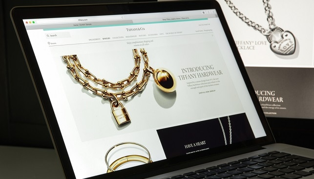 Tiffany website diamond jewelry