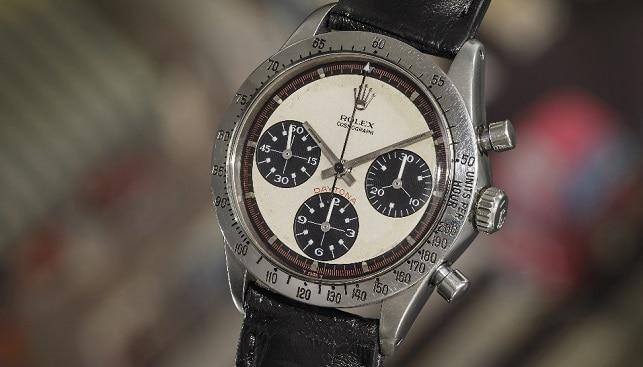 Paul Newman Rolex jewelry watch