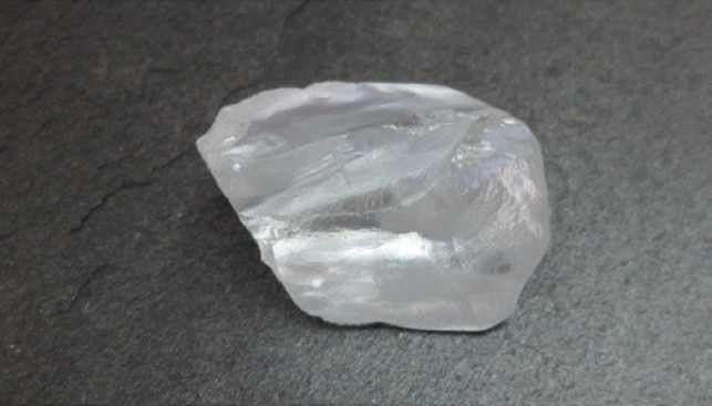 Big white diamond Petra