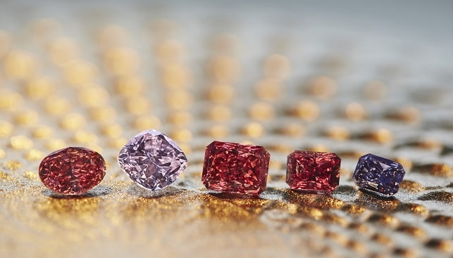 Rio Tinto Argyle Diamond pink red diamonds