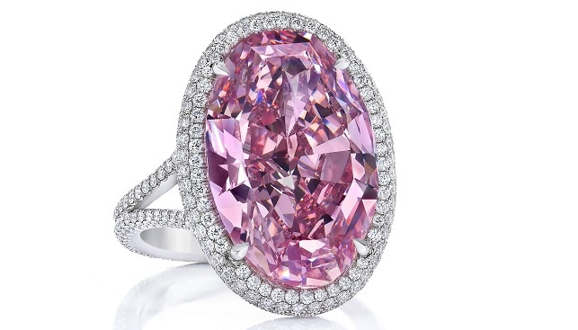 The pink Promise Diamond