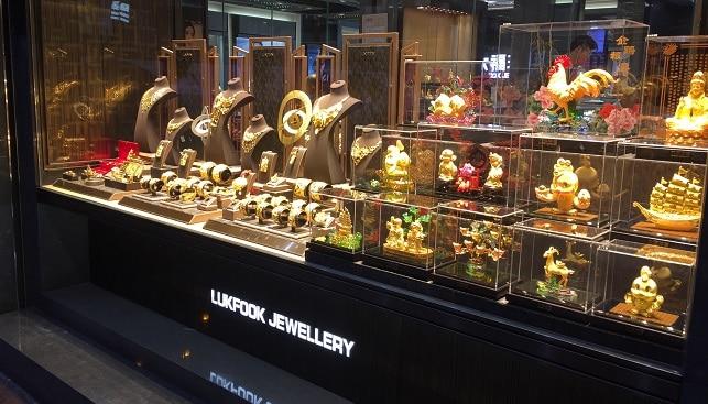 Lukfook luxury jewelry store
