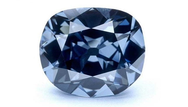 hope diamond blue diamond