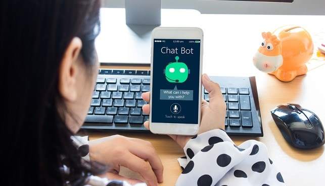 chat bot mobile phone