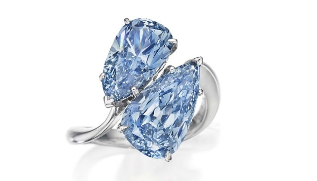 Blue diamond ring Graff