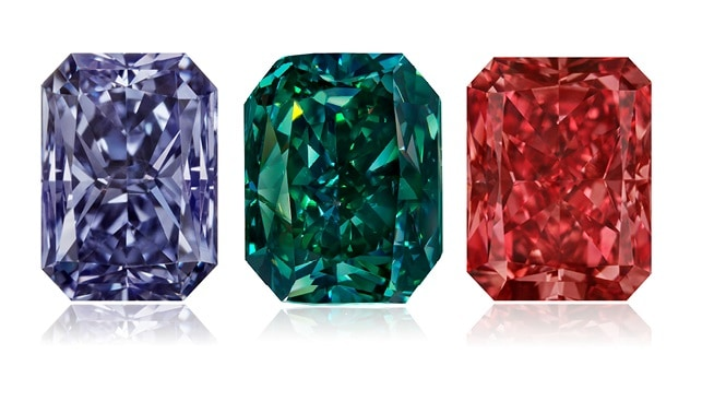 fancy color greed diamonds