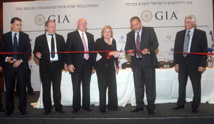 Israel diamonds exchange GIA