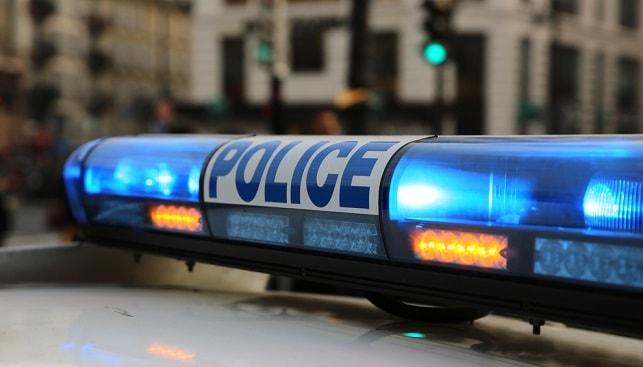 Police car Paris France