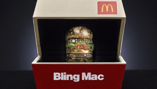 McDonald's Bling Mac Ring