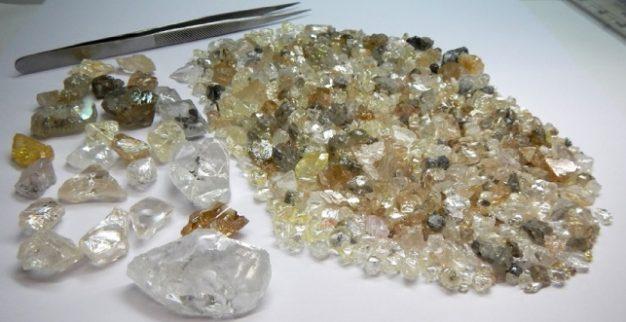 Lucapa rough diamonds Angola
