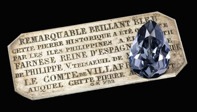 Farnese Blue Diamond Sotheby's