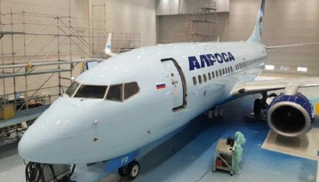 Alrosa Airlines diamonds Russia