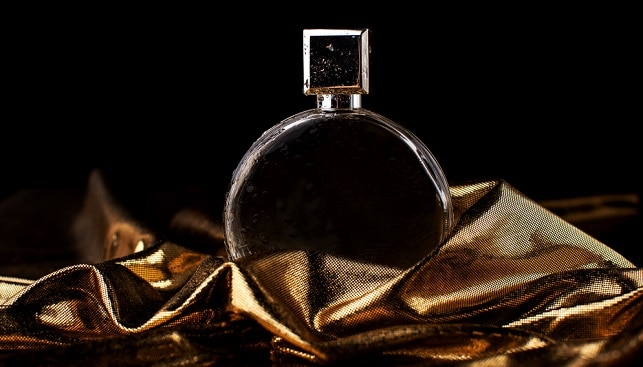 gold luxury perfume