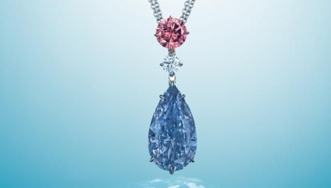 fancy blue diamond Christie's