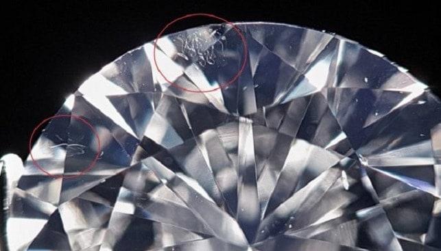 diamond scratch