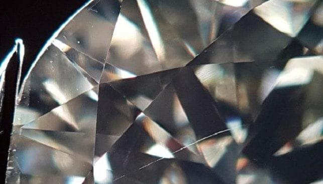 diamond scratches