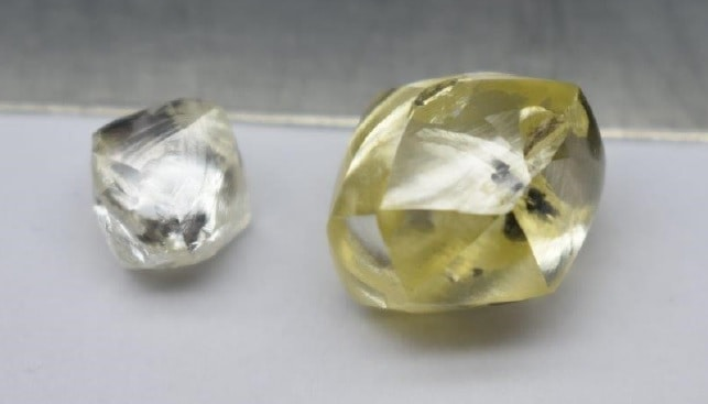 25 carat yellow Special Lucapa from Mothae