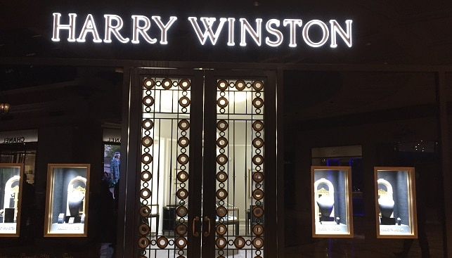 harry winston jewelry store