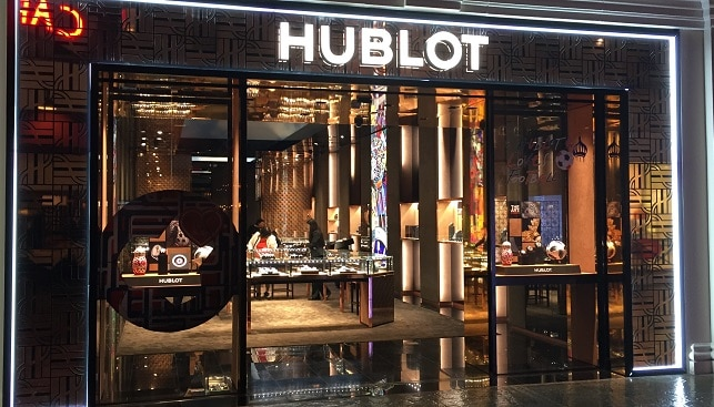 hublot luxury watch store
