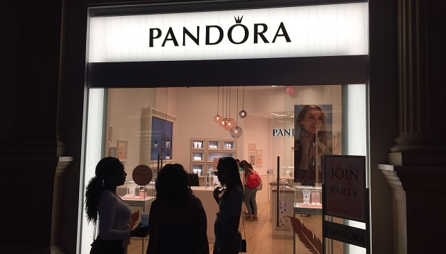 pandora fashion jewelry