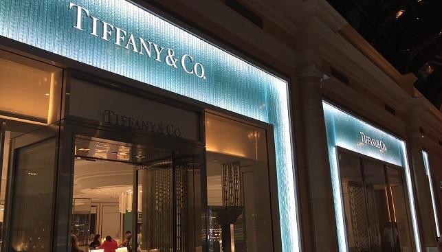 tiffany luxury jewelry store