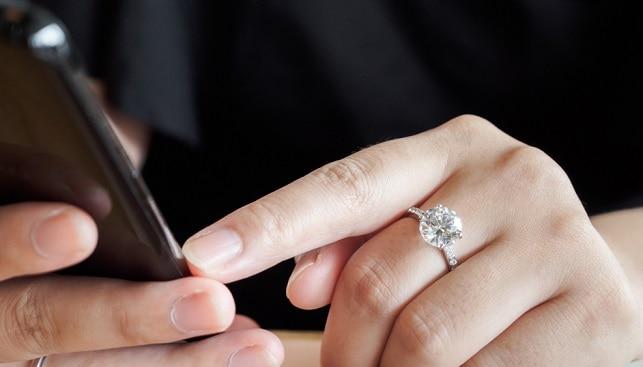 diamond jewelry smartphone application