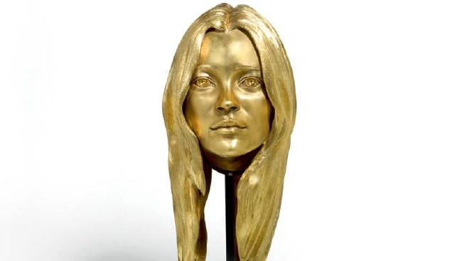 gold kate moss Sotheby's