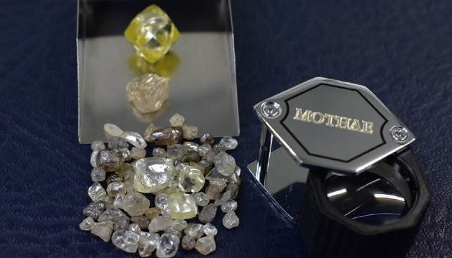 Lucapa yellow diamonds