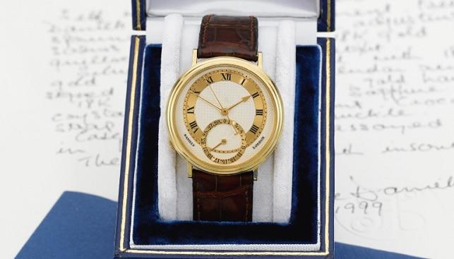 gold watch George Daniels