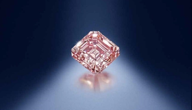 fancy pink diamond Bonhams