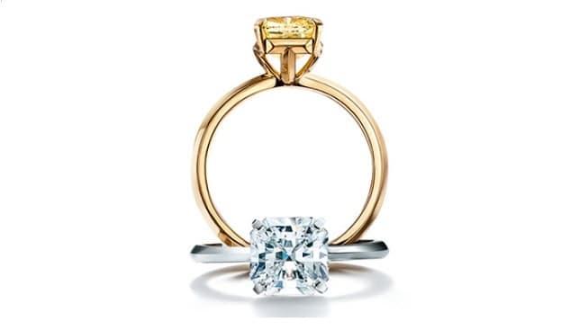 TIFFANY ENGAGEMENT DIAMOND RINGS