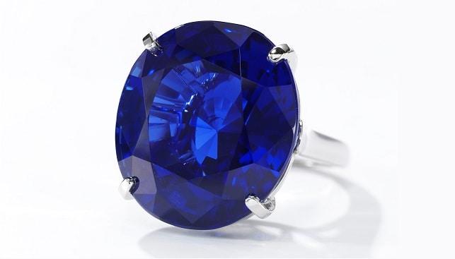 Burmese sapphire ring Cartier