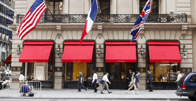 Cartier store New York