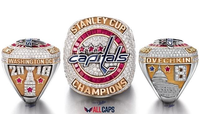Washington championship diamond ring