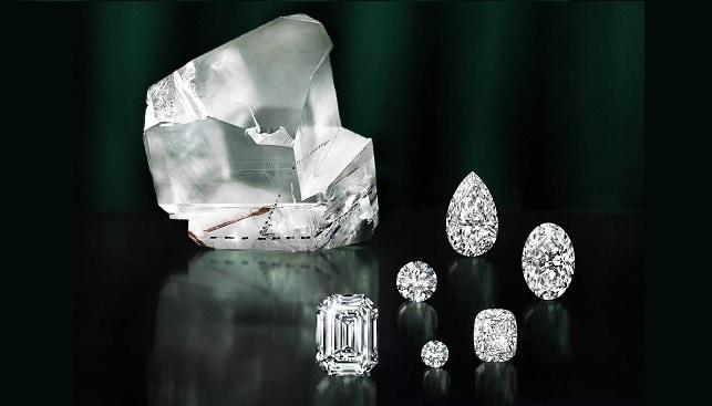 Leseidi La Rona diamonds