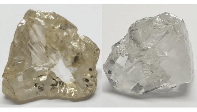 D-colour white diamond
