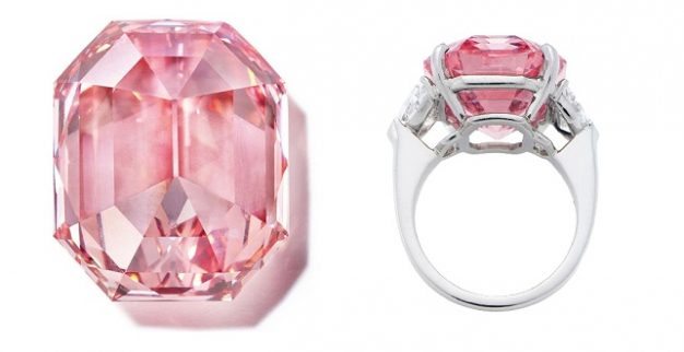 pink legacy fancy diamond