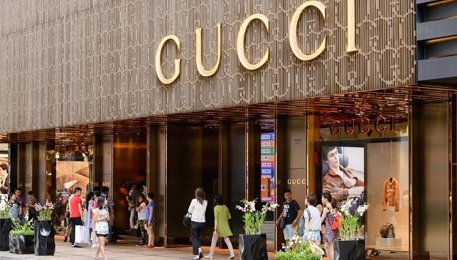 Gucci fashion jewelry store