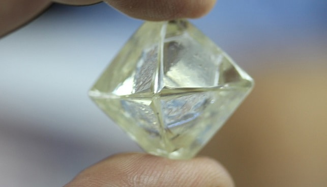 diamcor rough diamond Africa