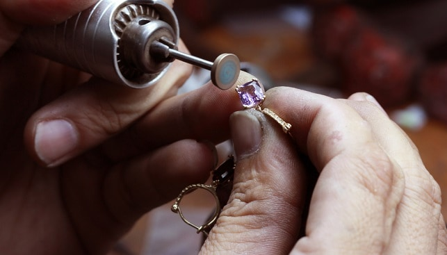 diamond ring polishing repair