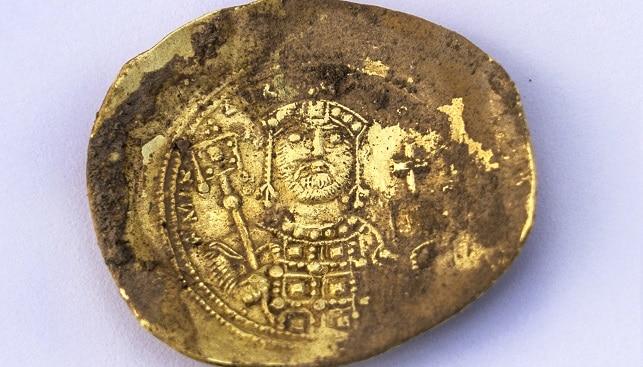 gold coin treasure Caesarea