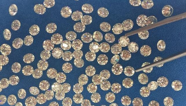 israeli polished diamonds