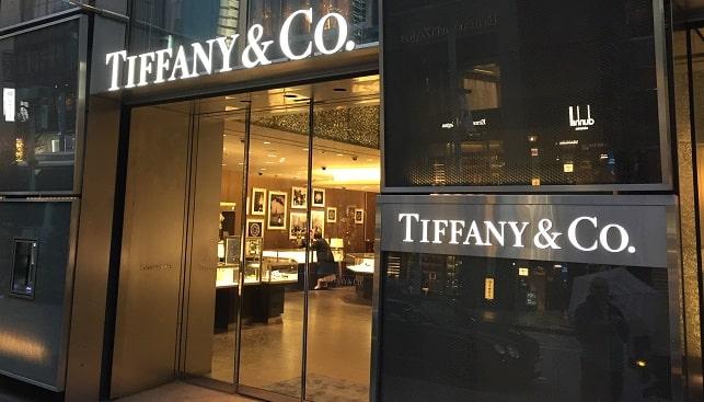tiffany jewelry store tokyo