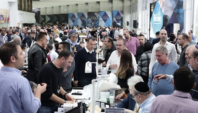 international diamond week Israel