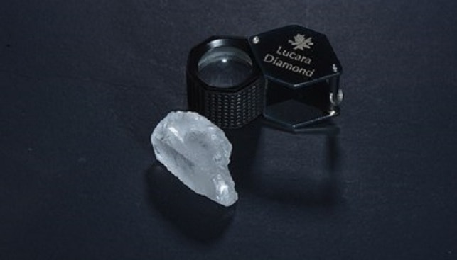 lucara white diamond botswana