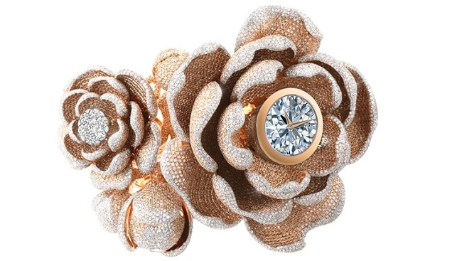 Mudan diamond watch Guinness