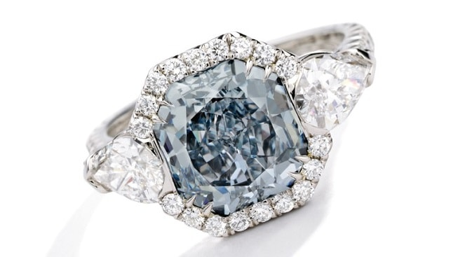 Blue Diamond Ring Sotheby's