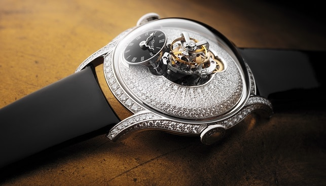 MB&F ladies diamond watch